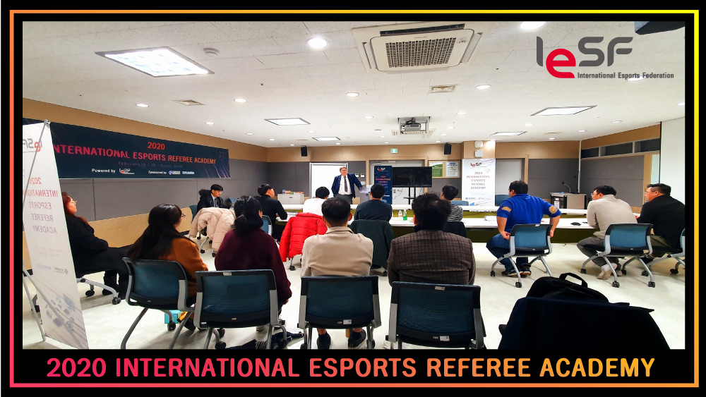 "IESF REFEREE TRAINERS BRING ""KNOWLEDGE, EXPERIENCE, AND PASSION"""